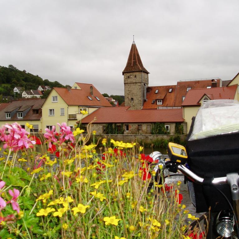 Over de Altmühltal-Radweg
