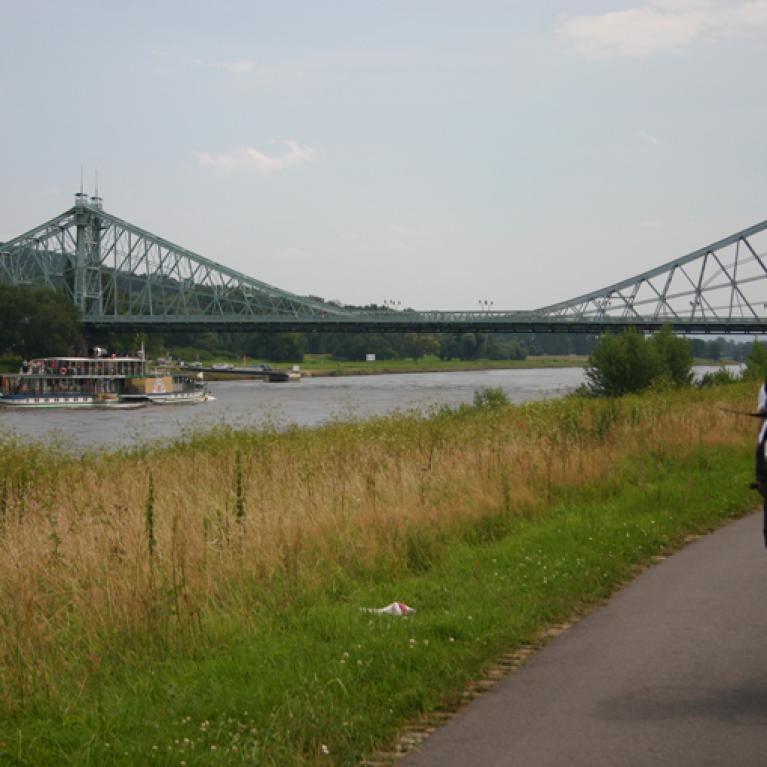 Elberadweg - van Dresden naar Maagdenburg