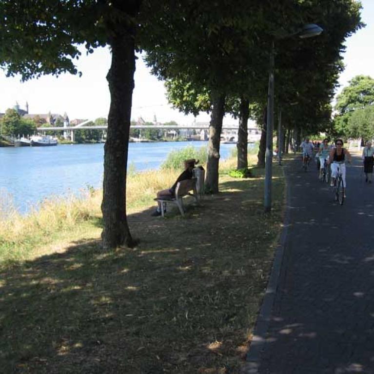 Maasroute - etappe 2 - van Maastricht naar Nijmegen